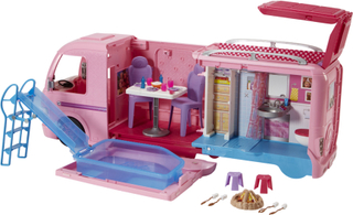 Barbie Dream Autocamper - Barbie campingvogn bil FBR34