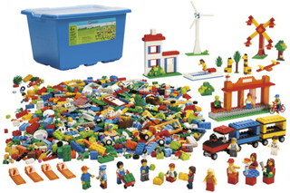 City Kjempe start-sett - Lego Education 9389