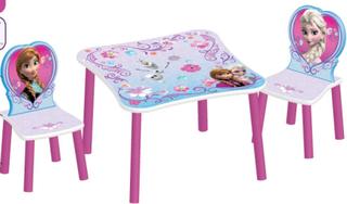 Frost bord och stolar - Frozen barnmöbler #303917