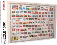 National flags pussel 1000 bitar - 38% rabatt
