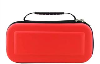 Nintendo Switch väska för spelkonsol och kassetter - Röd