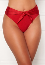 Chiara Forthi Tropea high rise tie briefs Red / Gold S