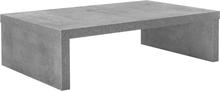 [en.casa]® Moderni sohvapöytä - Olohuone - betoni-110x70x30cm