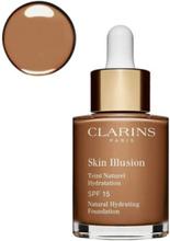 Clarins New Skin Illusion Foundation Foundation Cognac