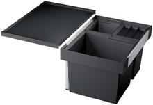 Blanco Flexon II 60XL sopsortering, 3 hinkar, montering i låda