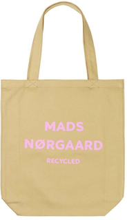 Mads Nørgaard Net, Athene Boutique Bag, Beige/Rose