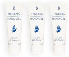 3-pack Brilliant Smile Hygienic Hand Gel With Alcohol 75ml