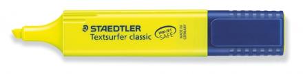 Tekstmarker STAEDTLER 364 gul Textsurfer Classic inkjet