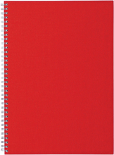 Ordning & Reda - O&R Notes Notesblok A4, Blank, Rød