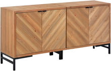 vidaXL Skänk 150x35x72 cm massivt trä