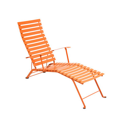 Fermob - Bistro Chaise Longue, Carrot