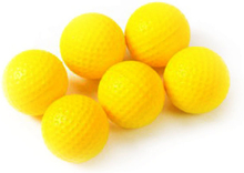 PU Foam Practice Golf Balls (6 pack)
