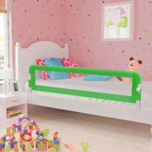 vidaXL Sängskena för barn grön 180x42 cm polyester