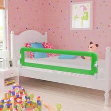 vidaXL Sängskena för barn grön 120x42 cm polyester