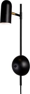 Globen Lighting - Swan Wall Lamp, Black