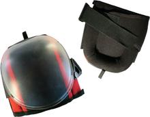 Toolpack Knäskydd Pro Arkose svart och röd