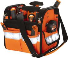 Toolpack Verktygsväska med hög synlighet Distinct orange och svart