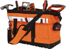 Toolpack Verktygsväska med hög synlighet Profile orange och svart