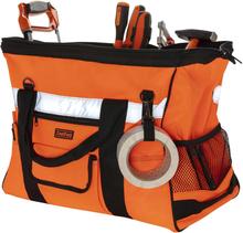 Toolpack Verktygsväska med hög synlighet Prominent orange och svart