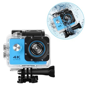 Sports SJ60 Vandtæt 4K WiFi Action Kamera - Blå