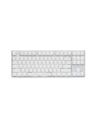 One 2 Backlit White Edition- Cherry MX Brown - Gaming Tastatur - Nordisk - Hvid