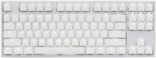One 2 Backlit Cherry MX Brown - White - Gaming Tastatur - Nordisk - Hvid