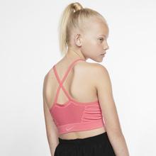 Nike Dri-FIT Girls' Sports Bra - Pink