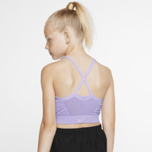 Nike Dri-FIT Girls' Sports Bra - Purple
