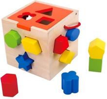 Tooky Toy - Plock Och Sorteringslåda I Trä