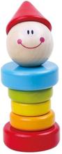 Tooky Toy - Clown Leksak I Trä