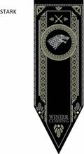 Game Of Thrones Vimpel / Flagga 152*45 Cm - Stark Stark