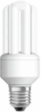 Inbyggt kompakt lysrör Värde DULUX 20W E27 E27