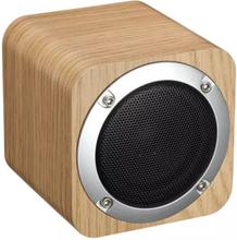 eStore iLepo i7 Trådlös högtalare i trä - Ljusbrun