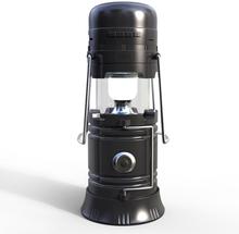 eStore Music Lamp Allt-i-ett camping Högtalare - Svart