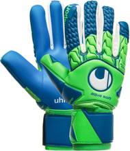 Uhlsport Målvaktshandske Aquasoft HN Windbreaker - Grön/Blå/Vit