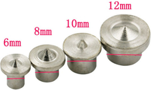 6/8/10/12mm Center Dowel Tenon A3 Material Center For Drill Hole Pin Wood Points Center Seat Locator Joint Alignment Tools
