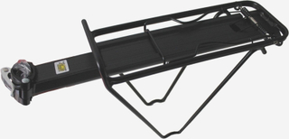 Point Pakethållare Pakethållare för sadelstolpe 9kg svart 2019 Pakethållare för sadelstolpar