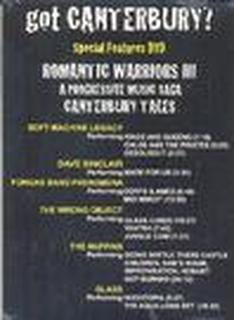Romantic Warriors III : Got Canterbury ? = DVD =