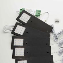 Loevschall Stella Multiwhite 5-kit LED påbygningsspots 4W LED, sort
