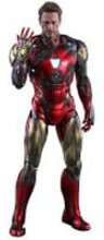 Hot Toys Avengers: Endgame MMS Diecast Action Figur 1/6 Iron Man Mark LXXXV Battle Damaged Version 32cm