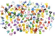 24x söta & färgglada pokemon figurer