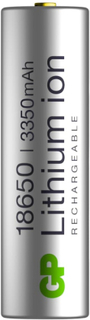 GP Batterier GP-Battery Li-Ion 18650 3350 mAh 1-pack batterier Metall OneSize