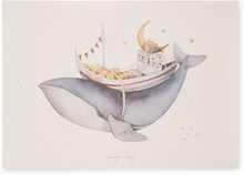 Konges Slöjd Poster Whale
