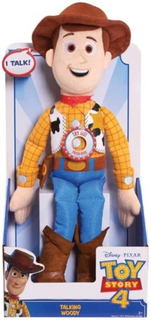 Toy Story 4 Docka - Talking Woody