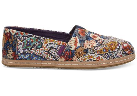 TOMS Schuhe Paisley Liberty® Fabrics Classics Für Damen - Größe 37.5