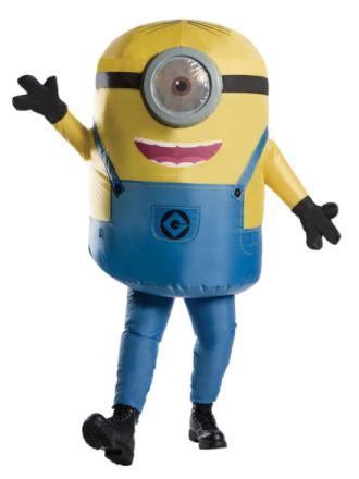 Minion Stuart Oppusteligt Kostume - Coolstuff