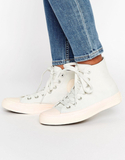 Converse Chuck Ii Hi Trainers With Pastel Mid Sole