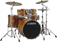 Yamaha Stage Custom Birch Standard Drumset - Honey Amber