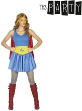 Kostume til voksne Superheltinde XXL