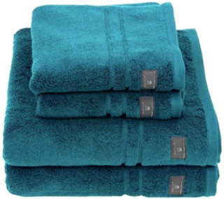 Gant Premium Terry Ansiktshandduk 30X50 Ink Blue Gant
